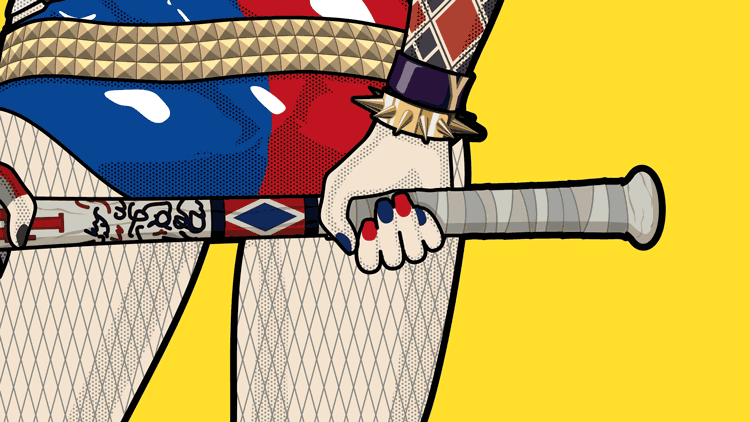 graphiste-saint-nazaire-la-baule-guerande-herbignac-44-harley-quinn-pop-art-illustration-2